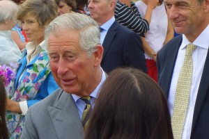 See photos of the royal visit to Uncleby
